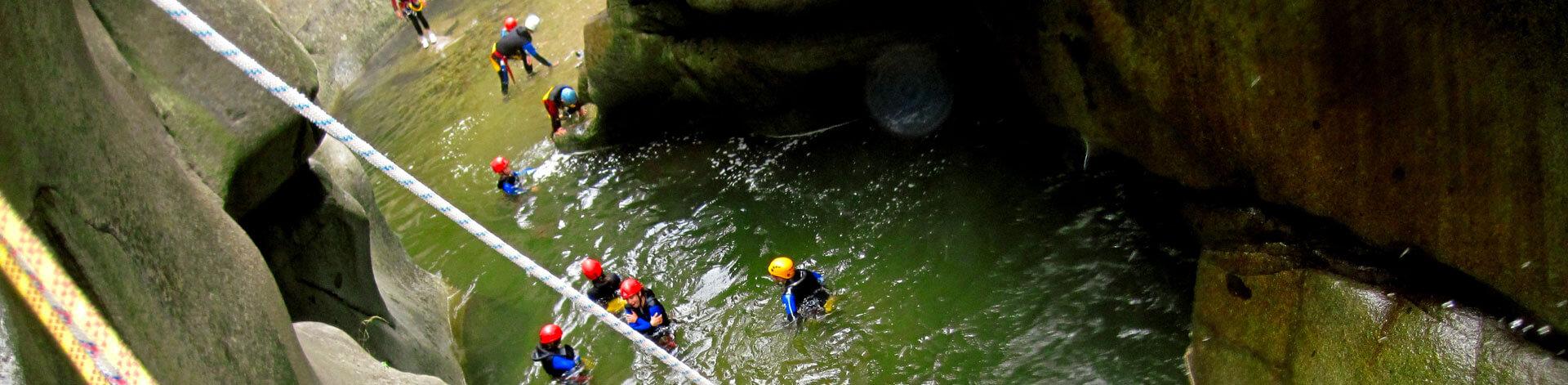 Canyoning en eaux chaudes 66 Perpignan