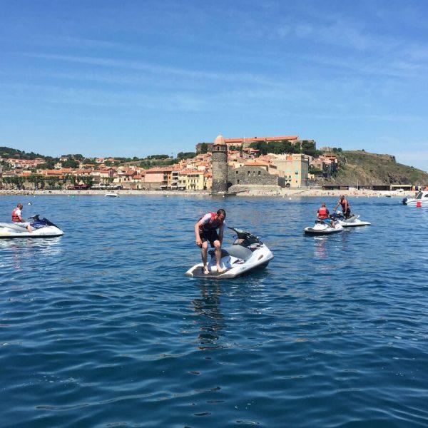 2h de Jet ski dans les Pyrénées-Orientales