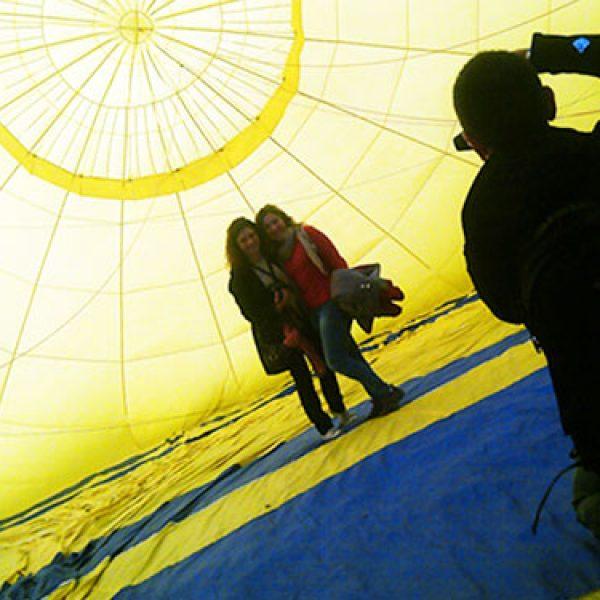 Baptême montgolfière Pyrénées Orientales