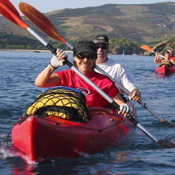 Balade en Kayak de mer dans les Pyrénées-Orientales 66