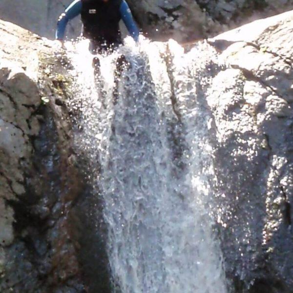 Canyoning dans les Pyrénées Orientales
