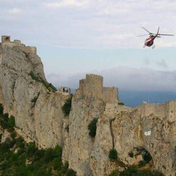 Vol en hélico Châteaux Cathares