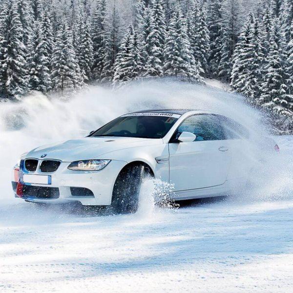 Stage de conduite sur glace