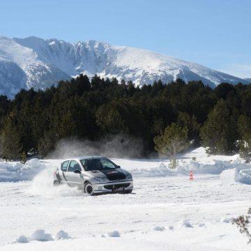 Stage demi journée circuit sur glace La Quillane