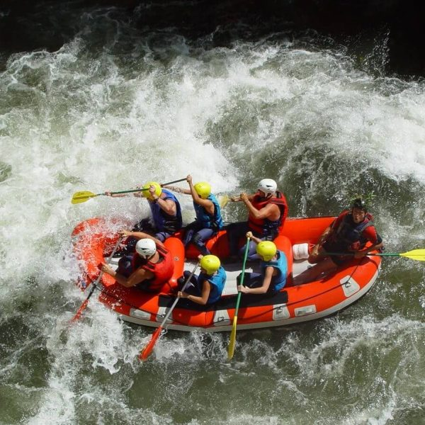 Rafting dans les Pyrénées-Orientales