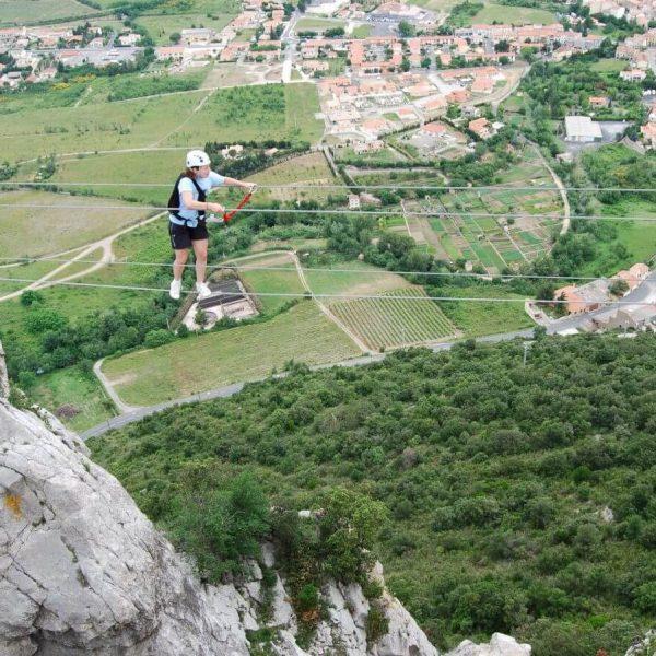 Via ferrata dans les Pyrénées-Orientales