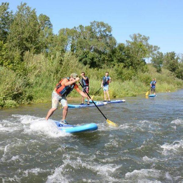 Paddle dans les Pyrénées Orientales