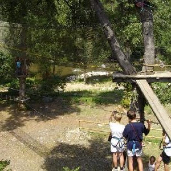Parcours Aventure Forestier dans les Pyrénées-Orientales