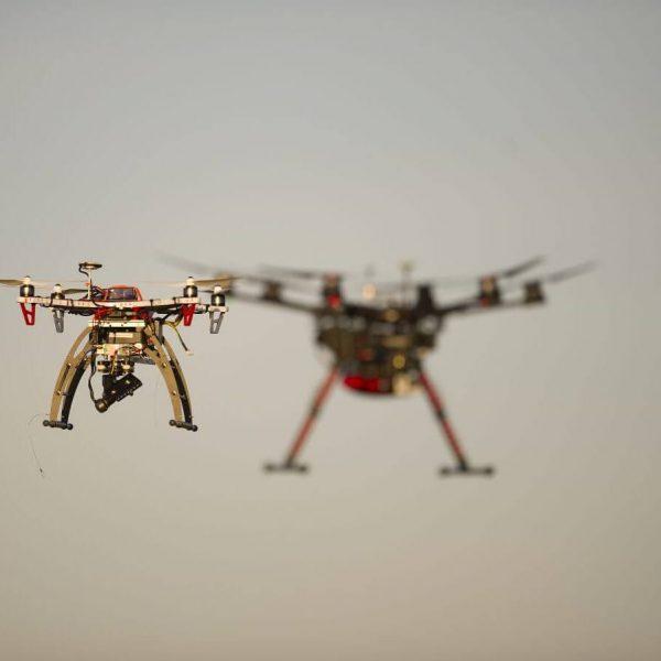 Pilotage de drone dans les Pyrénées-Orientales