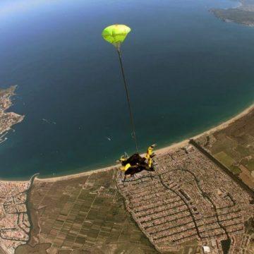 Saut en parachute en Catalogne