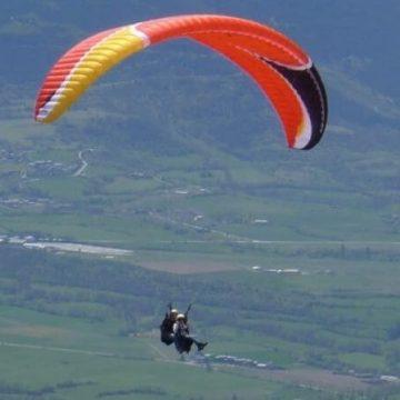 Vol parapente dans les Pyrénées-Orientales
