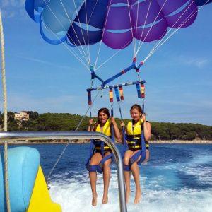 Parachute ascensionnel en catalogne