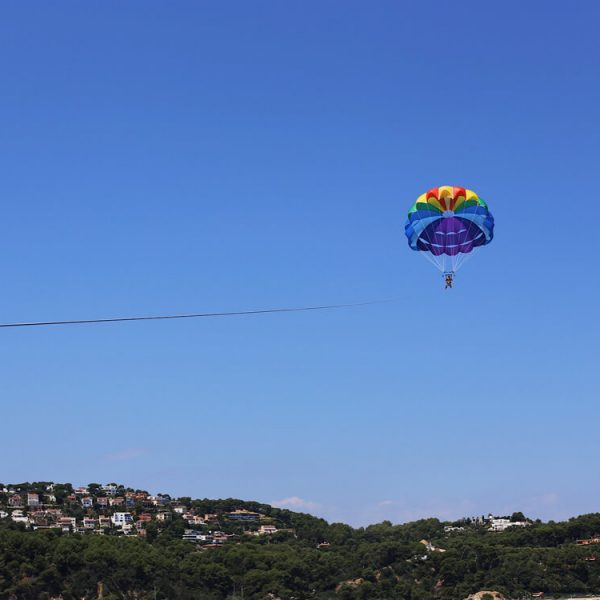 Parachute ascensionnel en catalogne