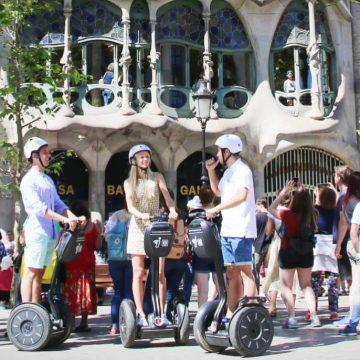 Visite guidée de Barcelone en segway