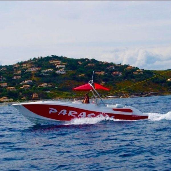 Parachute ascensionnel en Pays Catalan