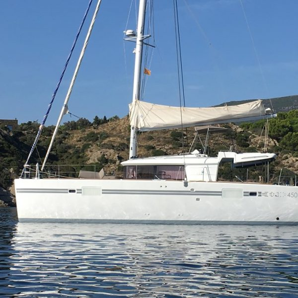 Privatisation d'un catamaran en Pays Catalan