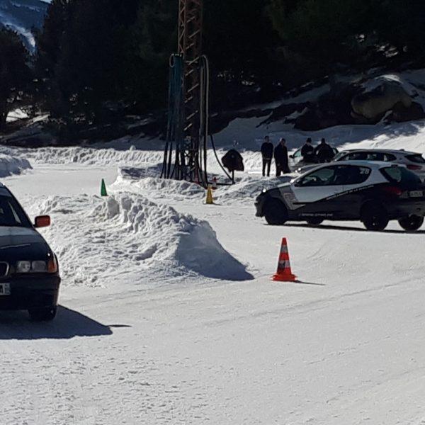 Stage journée circuit sur glace La Quillane