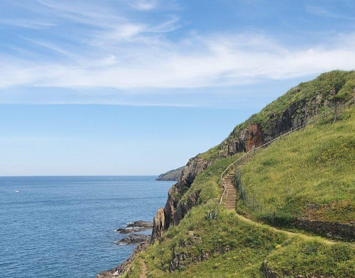 Sentier du littoral du Racou à Collioure