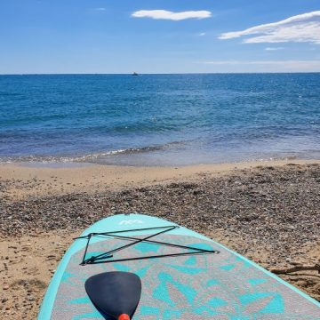 Cours de paddle yoga à Saint-Cyprien