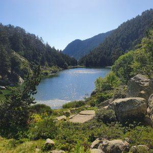 Les Angles lac de la Balmette