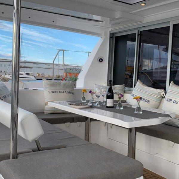Catamaran privatisé en Pays Catalan